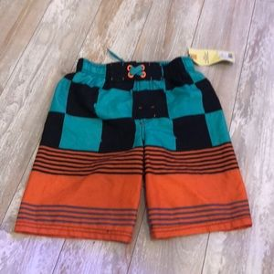 NWT swim trunks board shorts size small 6/7